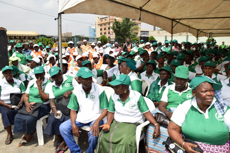 A Cross Section of Community Health Workers and Traditional Medicine Practitioners at the Event