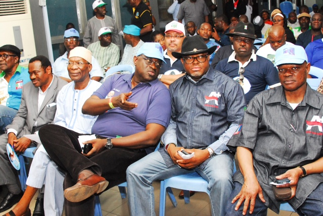 A cross section of Eko Club members at the endorsement event of Akinwunmi Ambode