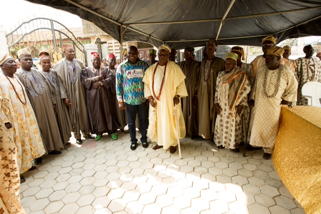 Ambode visits Royal Fathers in Epe Land