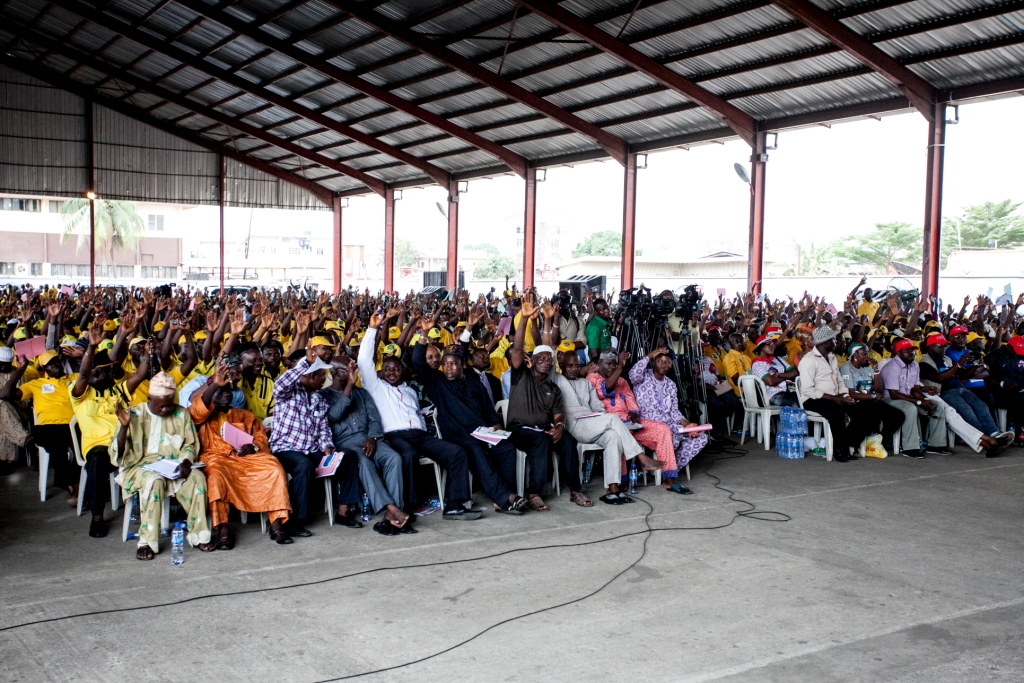A cross section of Taxi and Cab Operators at the event