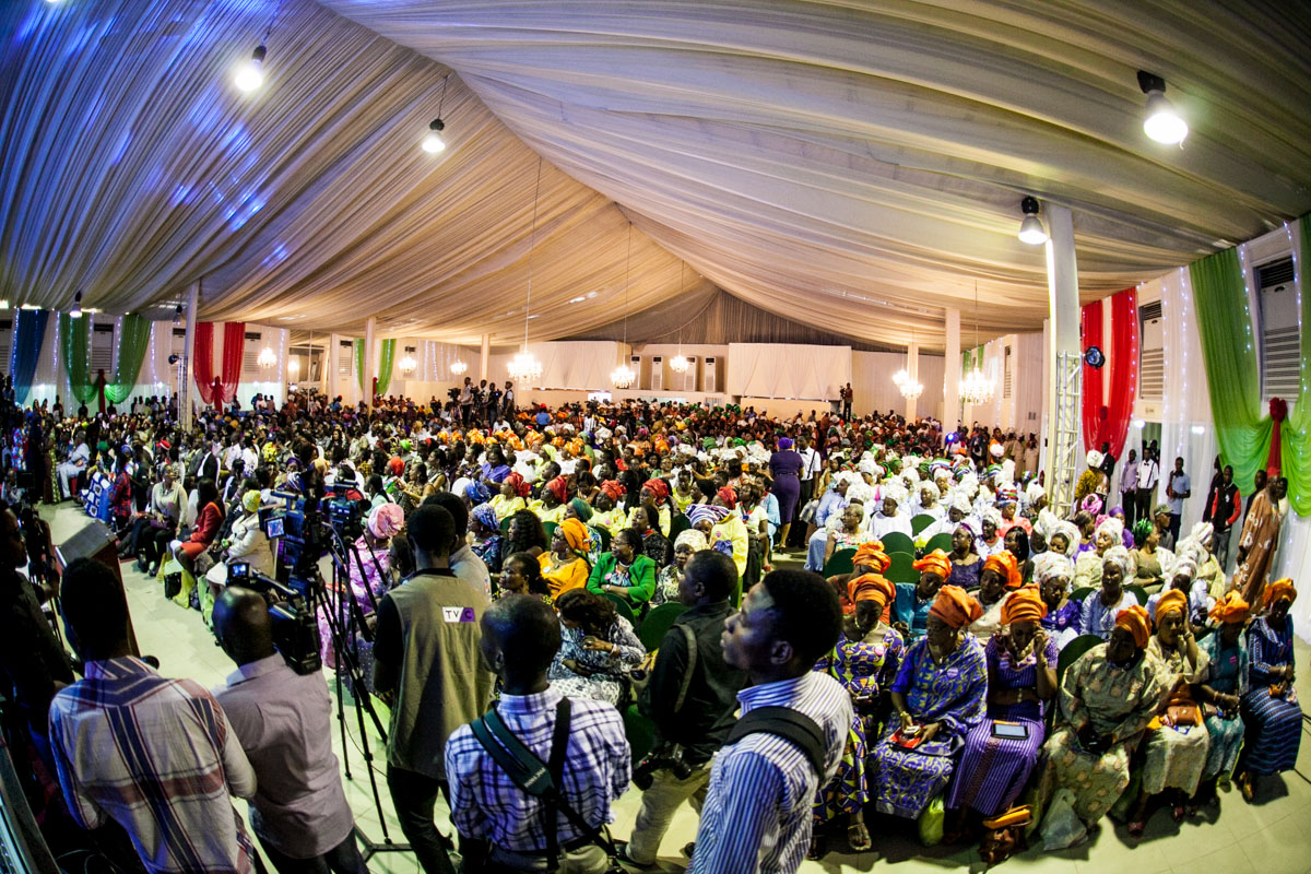 A Cross Section of Women at the Event